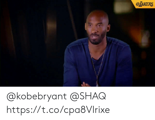 Shaq: @TAKERS @kobebryant @SHAQ https://t.co/cpa8VIrixe