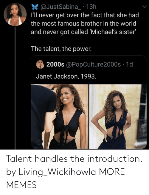 Living: Talent handles the introduction. by Living_Wickihowla MORE MEMES