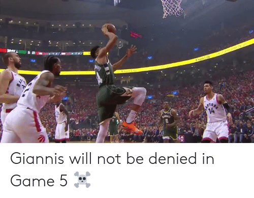 Tel: Tel  10 Giannis will not be denied in Game 5 ☠️