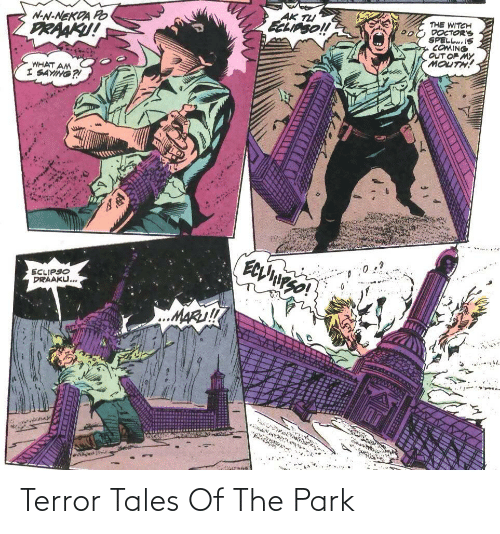 park: Terror Tales Of The Park