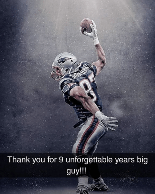 Big Guy: Thank you for 9 unforgettable years big  guy!!!