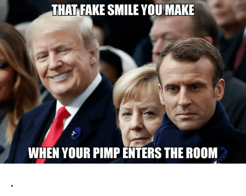 Fake, Smile, and Pimp: THAT FAKE SMILE YOU MAKE  WHEN YOUR PIMP ENTERS THE ROOM .