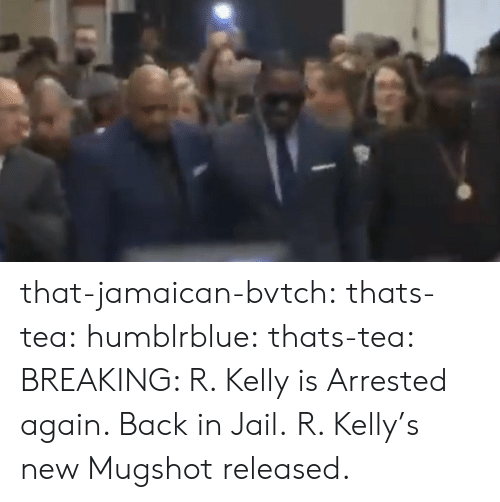 Jail, R. Kelly, and Tumblr: that-jamaican-bvtch:  thats-tea: humblrblue:  thats-tea:  BREAKING: R. Kelly is Arrested again. Back in Jail.   R. Kelly's new Mugshot released.