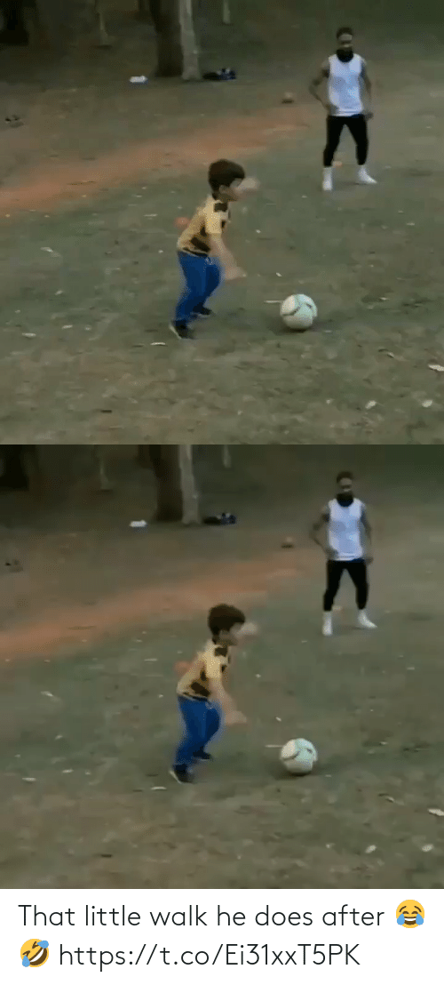 soccer: That little walk he does after 😂🤣 https://t.co/Ei31xxT5PK