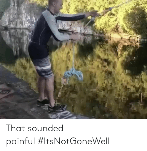 Painful: That sounded painful#ItsNotGoneWell