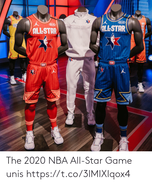 NBA All-Star Game: The 2020 NBA All-Star Game unis https://t.co/3lMIXIqox4