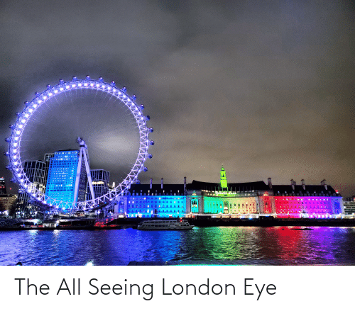 seeing: The All Seeing London Eye
