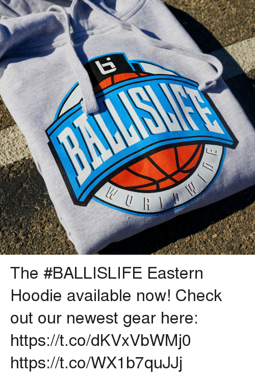 Memes, 🤖, and Check: The #BALLISLIFE Eastern Hoodie available now!  Check out our newest gear here: https://t.co/dKVxVbWMj0 https://t.co/WX1b7quJJj