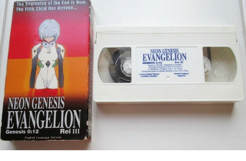 Neon Genesis Evangelion: The Beginning of the End is Now.  The Filth child Has Arrived...  00  NEON GENESIS  EANGELION  Rei III  Genesis 0:12  English Language Version  NEON GENESIS  EVANGELION  GENESIS OI12