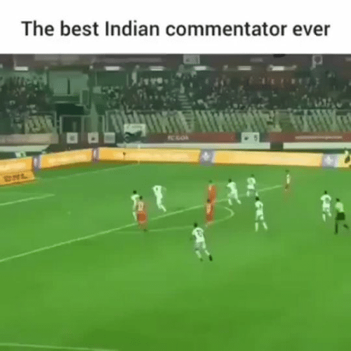 Indian: The best Indian commentator ever  TC GOA  RHL