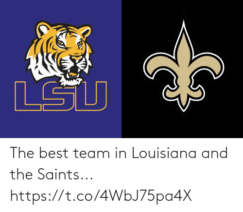 NFL: The best team in Louisiana and the Saints... https://t.co/4WbJ75pa4X