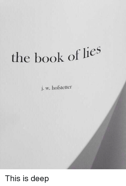 the-book-of-lies-j-w-hofstetter-this-is-