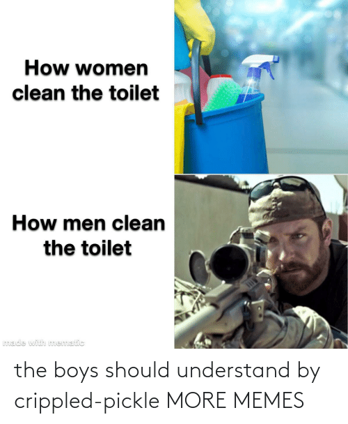 understand: the boys should understand by crippled-pickle MORE MEMES