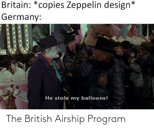 program: The British Airship Program