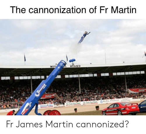 Coca-Cola, Finance, and Food: The cannonization of Fr Martin  MIT  STAND  Coca-Cola  CocaCola  nd to  a m  RURAL FINANCE  The Fresh Food Peaple  The Fresh Food Paple  WEEKLY TIMES  annonbal Fr James Martin cannonized?