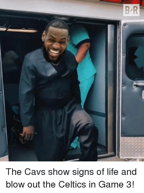 blow out: The Cavs show signs of life and blow out the Celtics in Game 3!