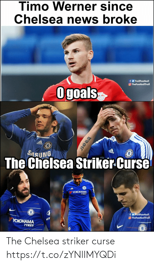Chelsea: The Chelsea striker curse https://t.co/zYNlIMYQDi