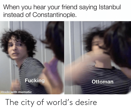 desire: The city of world's desire