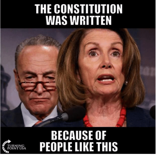 Memes, Constitution, and 🤖: THE CONSTITUTION  WAS WRITTEN  BECAUSE OF  PEOPLE LIKE THIS  (  TURNING  POINT USA  ,08A