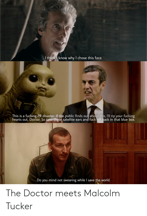 malcolm: The Doctor meets Malcolm Tucker