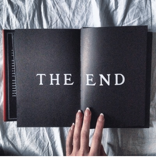 The End, End, and The: THE END