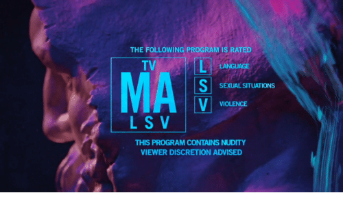 Discretion: THE FOLLOWING PROGRAM IS RATED  TV  LANGUAGE  SEXUAL SITUATIONS  VIOLENCE  L S V  THIS PROGRAM CONTAINS NUDITY  VIEWER DISCRETION ADVISED