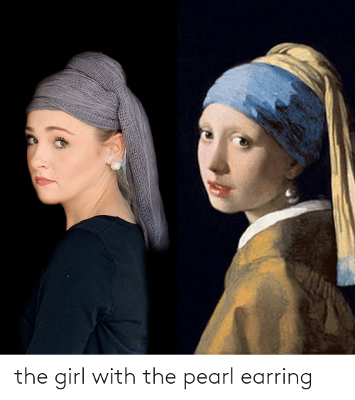 earring: the girl with the pearl earring