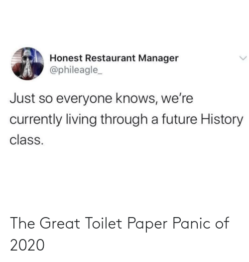 paper: The Great Toilet Paper Panic of 2020