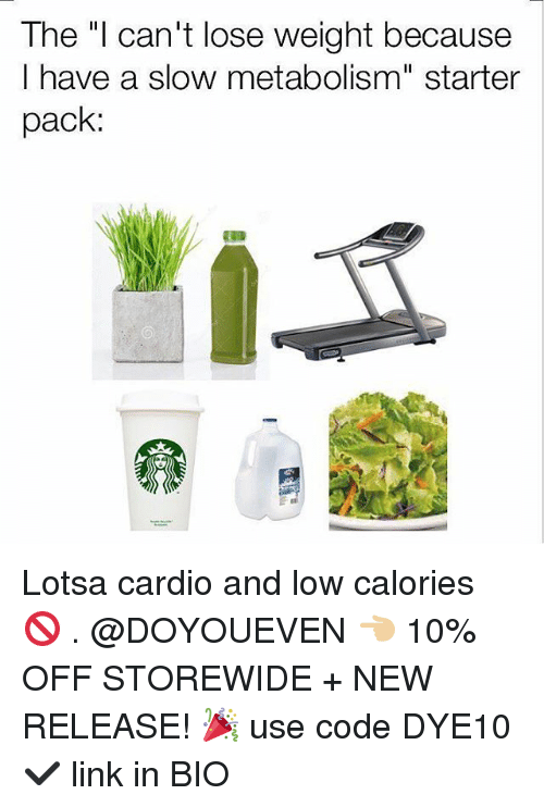speed up metabolism cant lose weight