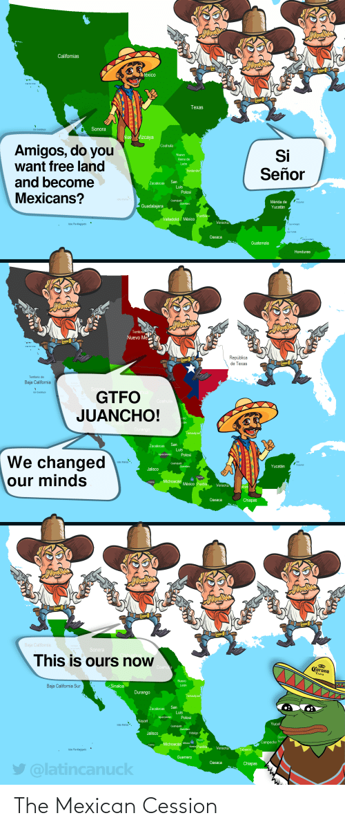 Mexican: The Mexican Cession