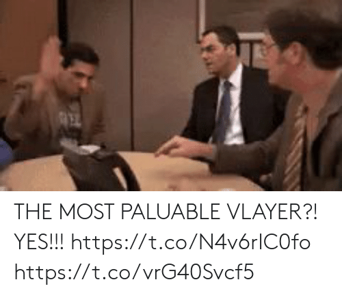 Memes, 🤖, and Yes: THE MOST PALUABLE VLAYER?! YES!!! https://t.co/N4v6rIC0fo https://t.co/vrG40Svcf5