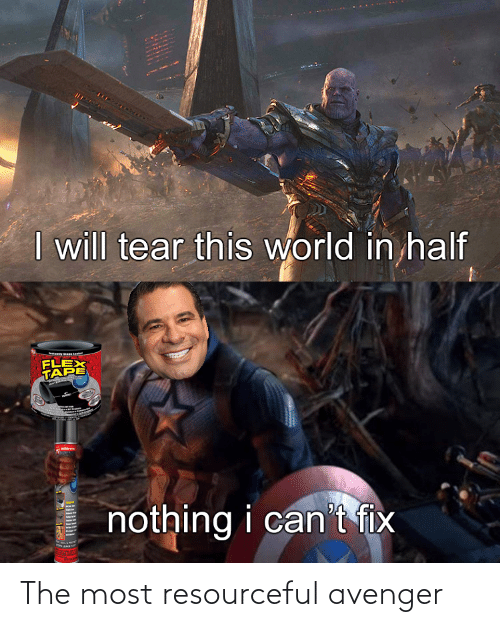 The Most: The most resourceful avenger