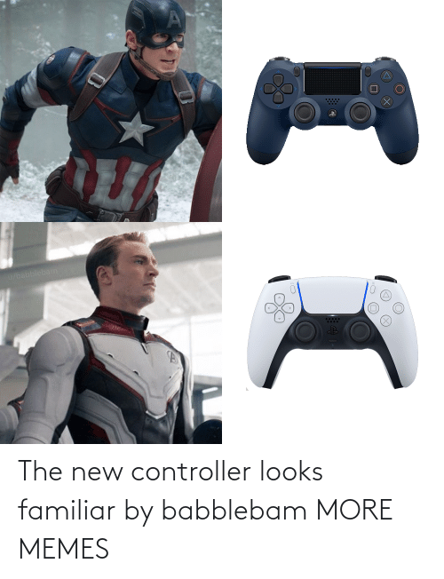 new: The new controller looks familiar by babblebam MORE MEMES
