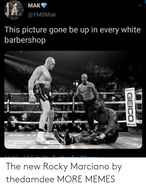 Rocky: The new Rocky Marciano by thedamdee MORE MEMES