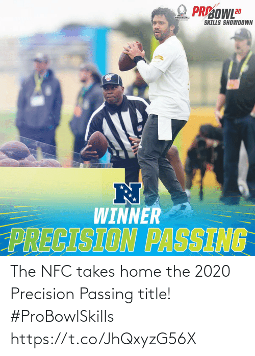 Home: The NFC takes home the 2020 Precision Passing title! #ProBowlSkills https://t.co/JhQxyzG56X