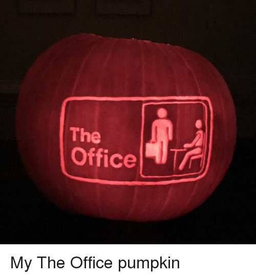 The Office, Office, and Pumpkin: The  Office | My The Office pumpkin