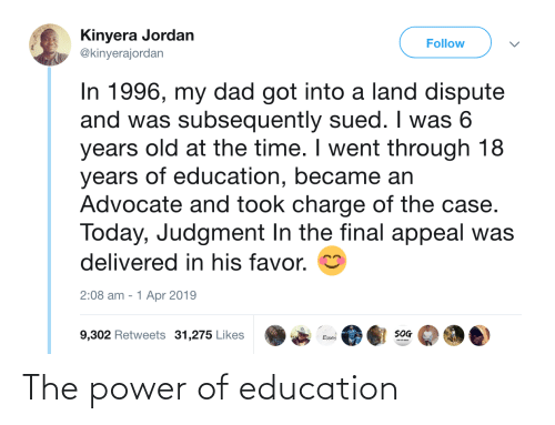 education: The power of education