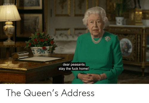 Queen: The Queen's Address