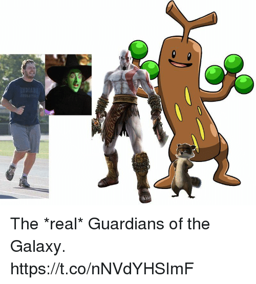 Video Games, Guardians of the Galaxy, and The Real: The *real* Guardians of the Galaxy. https://t.co/nNVdYHSImF