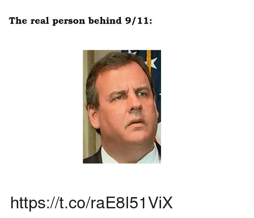 9/11, The Real, and Real: The real person behind 9/11: https://t.co/raE8I51ViX