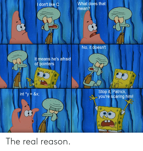 The Real: The real reason.