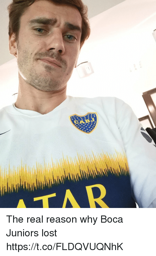 Memes, Lost, and The Real: The real reason why Boca Juniors lost https://t.co/FLDQVUQNhK
