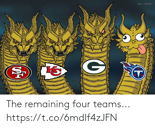 NFL: The remaining four teams... https://t.co/6mdIf4zJFN
