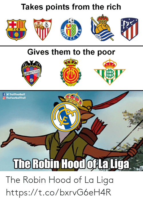 La: The Robin Hood of La Liga https://t.co/bxrvG6eH4R