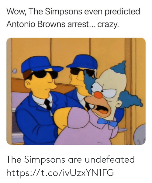 The Simpsons: The Simpsons are undefeated https://t.co/ivUzxYN1FG