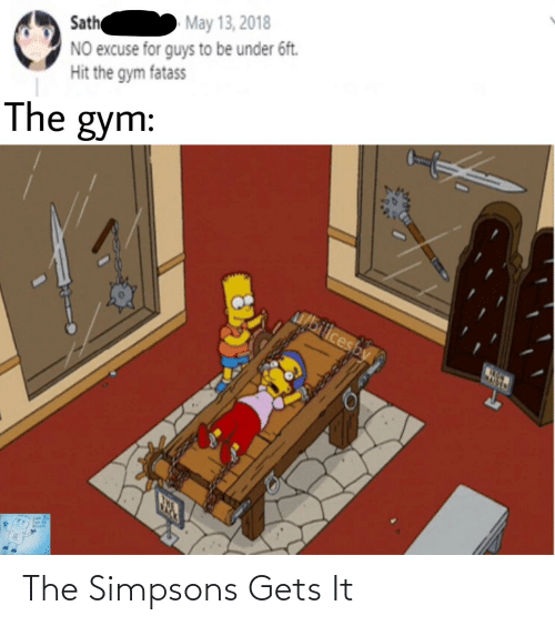 gets: The Simpsons Gets It