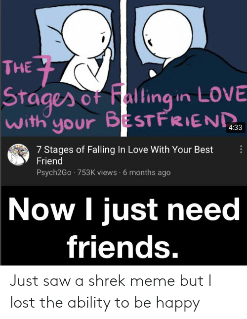 Fall in love best friends when How to