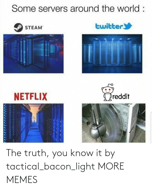 the truth: The truth, you know it by tactical_bacon_light MORE MEMES