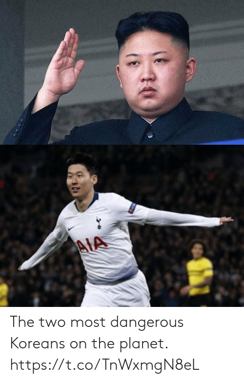 Soccer, Planet, and  Two: The two most dangerous Koreans on the planet. https://t.co/TnWxmgN8eL