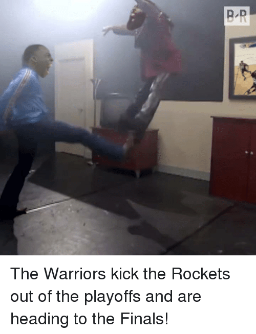 Finals, Warriors, and The Warriors: The Warriors kick the Rockets out of the playoffs and are heading to the Finals!